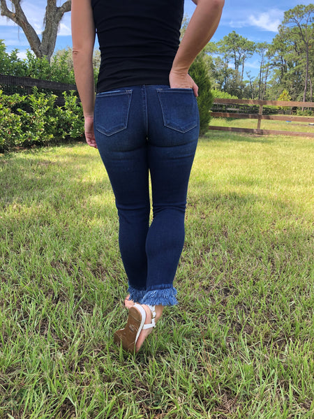 Willow Mid Rise Kancan Jeans