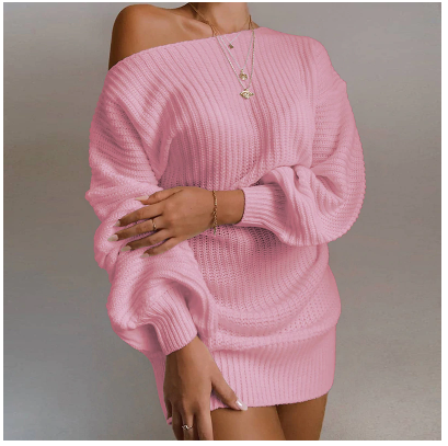 Sexy off shoulder women dress