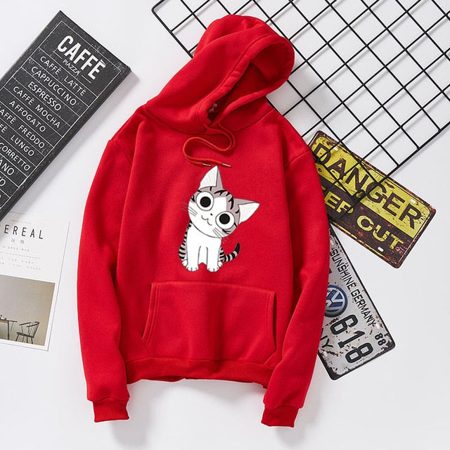 Sweet cat hoodies