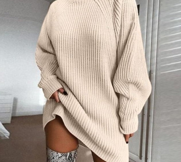 Knitted oversized sweater