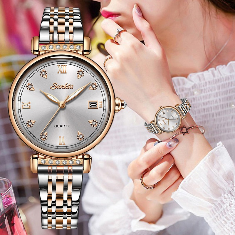 New Women's Watches Quartz Wrist Watch