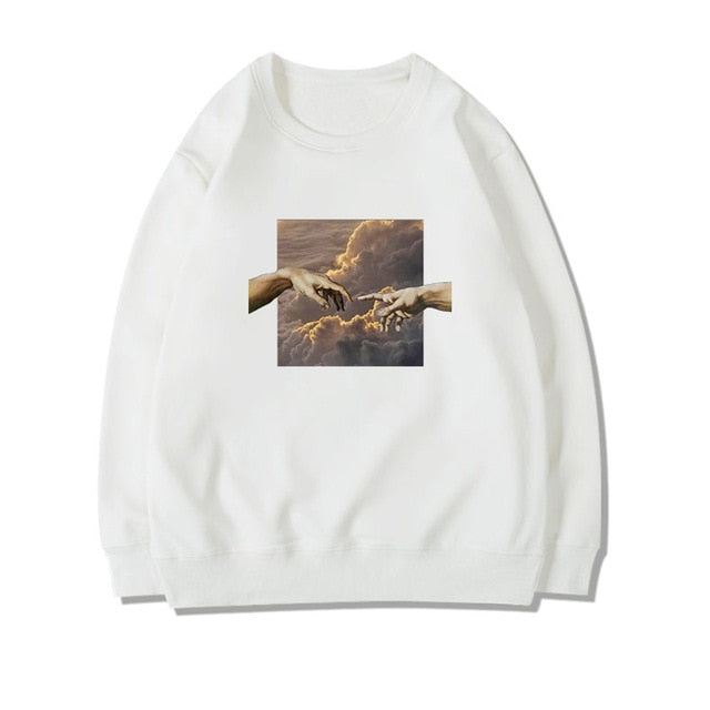 Michelangelo sweatshirts without hood