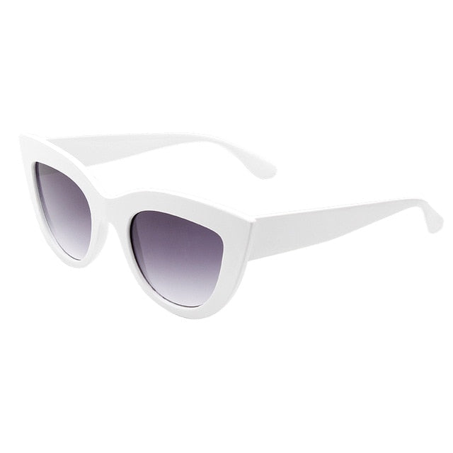 Retro thick frame sunglasses