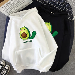 Avocado cat sweatshirt