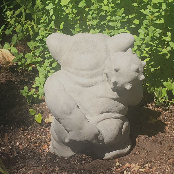 Load image into Gallery viewer, Garden Troll Picking Butt Concrete Statue