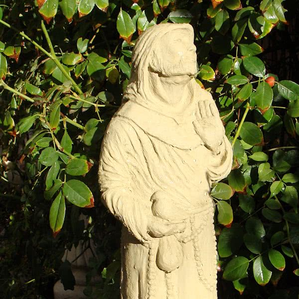 Saint Francis (Hooded)
