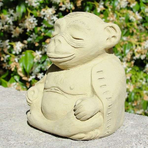 Load image into Gallery viewer, Meditating Monkey (Small)