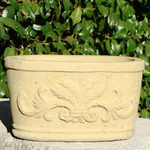 Oval Motif Trough (Small)