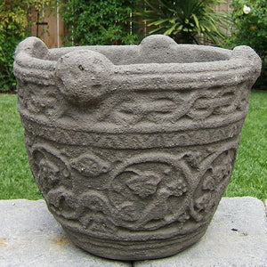 Load image into Gallery viewer, Vintage Celtic Planter (Medium)