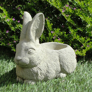 vintage rabbit pot