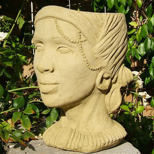Load image into Gallery viewer, African Queen Head Planter
