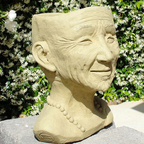 Monk Head Planter