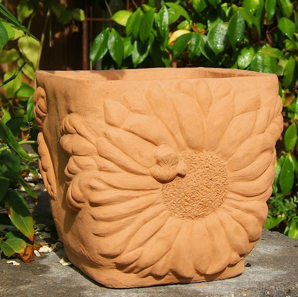 Load image into Gallery viewer, Sunflower Flowerpot