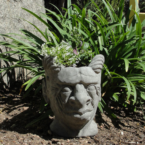 Load image into Gallery viewer, Gargoyle Head Planter (Small)