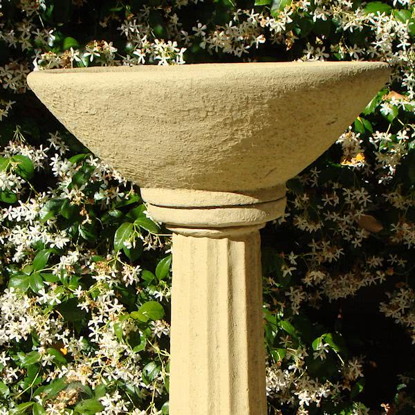 Old World Basin on Pedestal