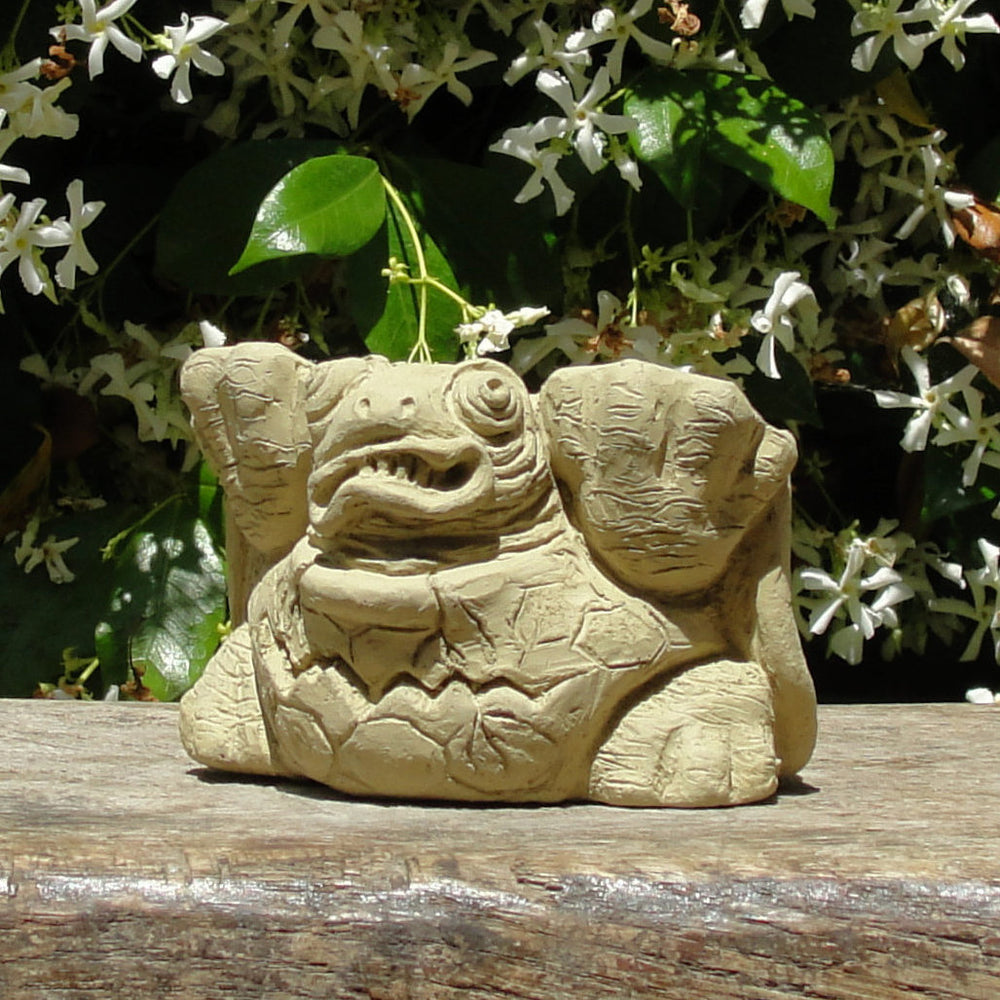 Scrunched Turtle Pot Feet (3 Pcs.)