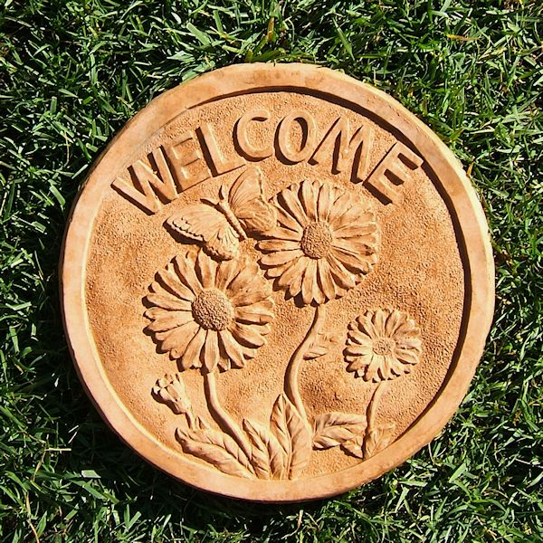 Sunflower Welcome Step