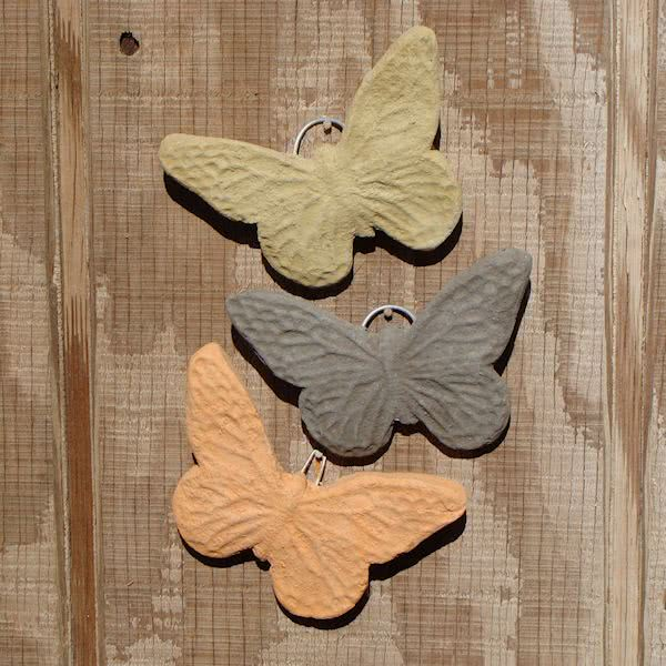 Butterfly Plaque (Mini - Set/3)