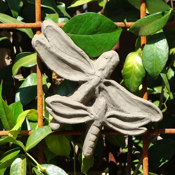 Springtime Dragonfly Plaque