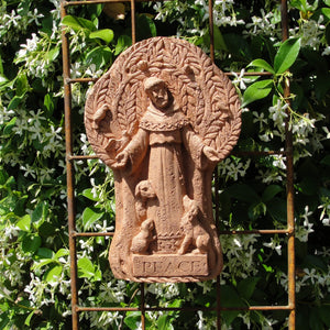 "Load image into Gallery viewer, Saint Francis Plaque ""Peace"""