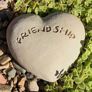 Friendship - Heart Spirit Stone