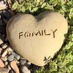 Family - Heart Spirit Stone