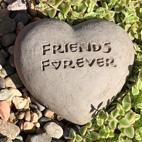 Friends Forever - Heart Spirit Stone