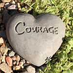 Courage - Heart Spirit Stone