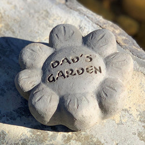 Dad's Garden - Passion Flowers Spirit Stones