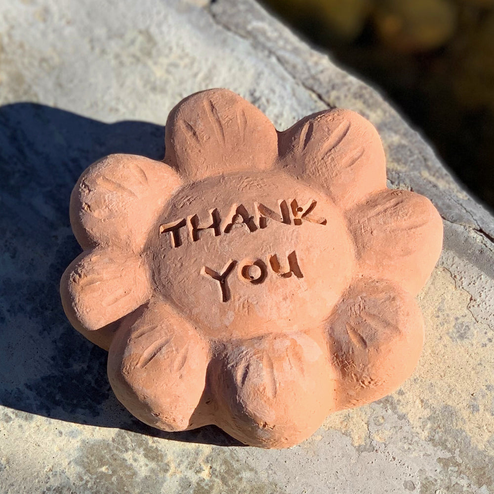 Thank You - Passion Flowers Spirit Stones