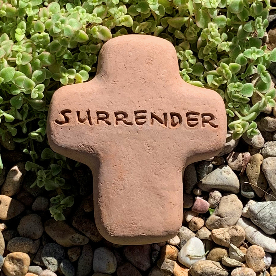 Load image into Gallery viewer, Surrender - Cross Spirit Stone