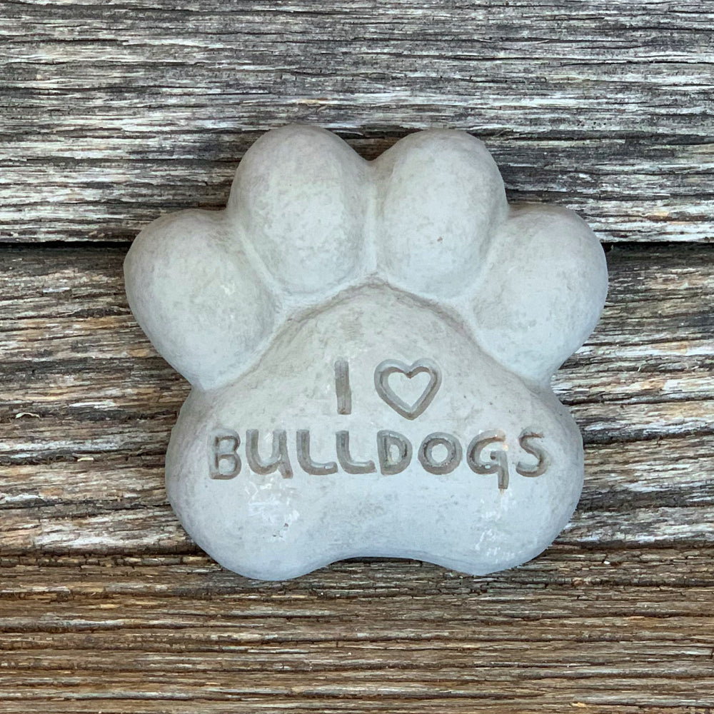 Load image into Gallery viewer, I Heart Bulldogs - Paws Spirit Stones