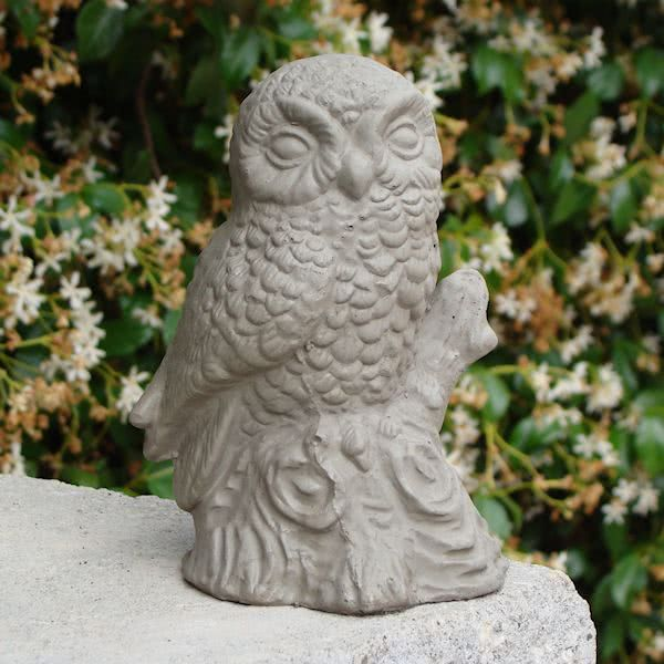 Vintage Perched Owl (Small)