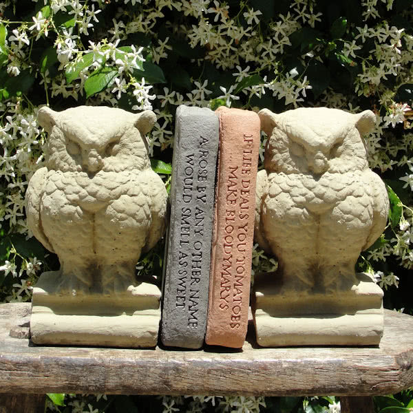 Vintage Owl Bookends (Pair)