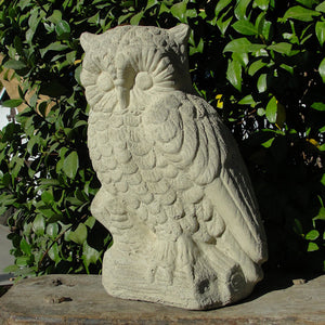 vintage xl perched owl