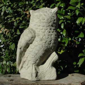Vintage Perched Owl (XL)