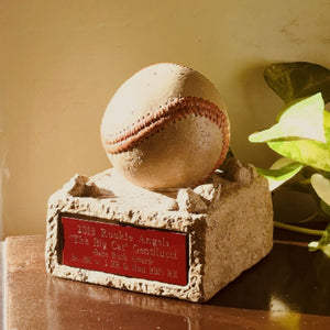 Load image into Gallery viewer, Stone Baseball Trophy