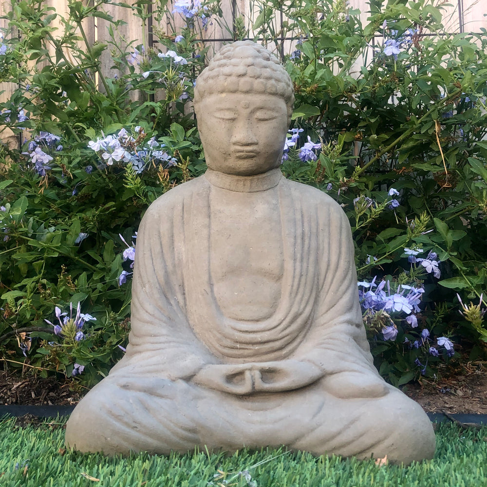 Load image into Gallery viewer, Vintage Meditating Buddha (Large w/ No Base)