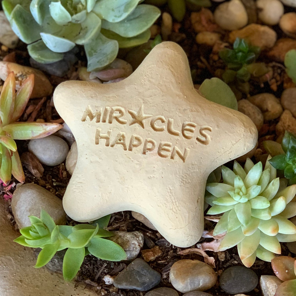 Miracles Happen - Shooting Star Spirit Stone