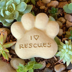 I Heart Rescues - Paws Spirit Stones
