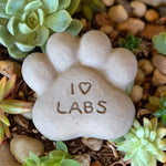 I Heart Labs - Paws Spirit Stones