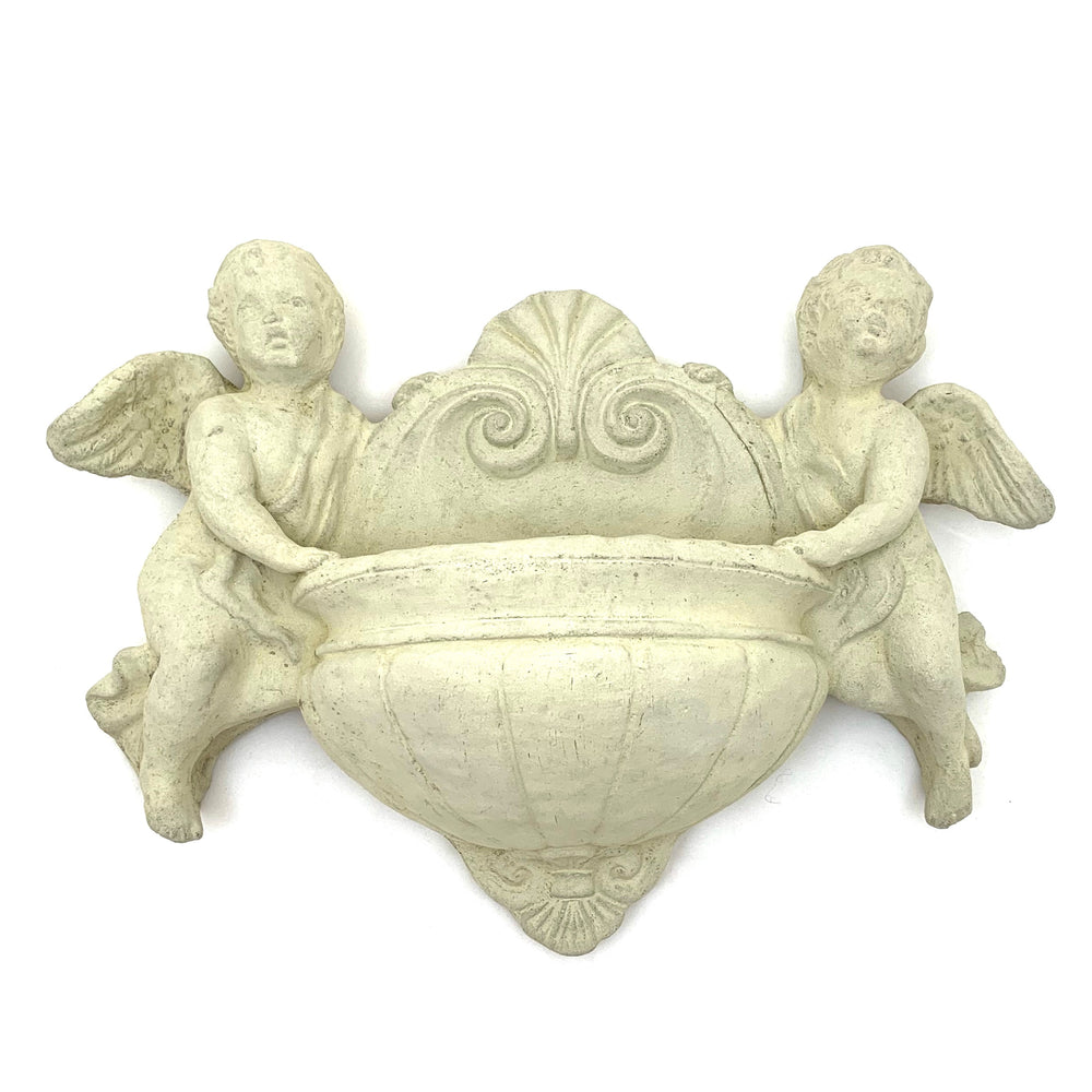 Load image into Gallery viewer, Vintage Cherub Twin Sconce