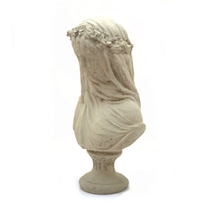 Load image into Gallery viewer, Vintage Veiled Bride Bust
