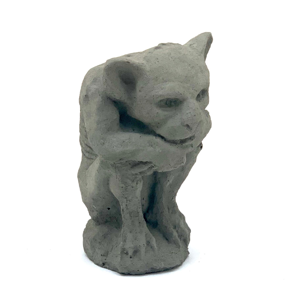 Load image into Gallery viewer, Vintage Sitting Gargoyle
