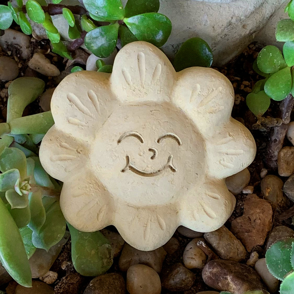 Smiley Face - Passion Flowers Spirit Stones
