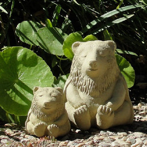 Load image into Gallery viewer, Meditating Buddha Bear Statue