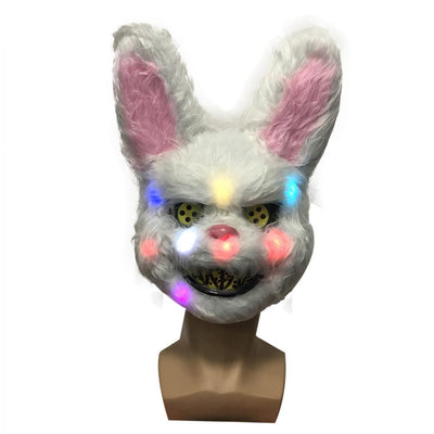 Halloween LED Animal Plush Mask