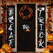Halloween/Christmas Porch Banner Decoration