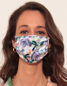 3 Layered Face Mask - Colibri by Oana Soare