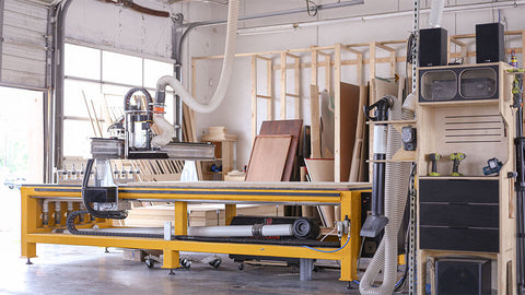 Workshop with CNC